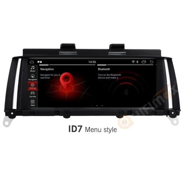 HIFIMAX BMW X3 X4 GPS Navigation B223 with ID7 MENU