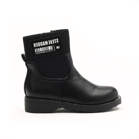 K-RUBI BLACK SOCK BOOTIES