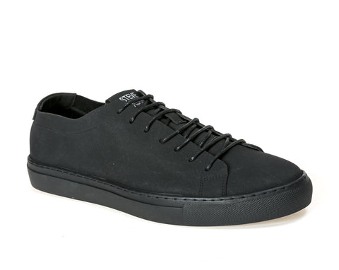 M-QUILT BLACK SNEAKERS