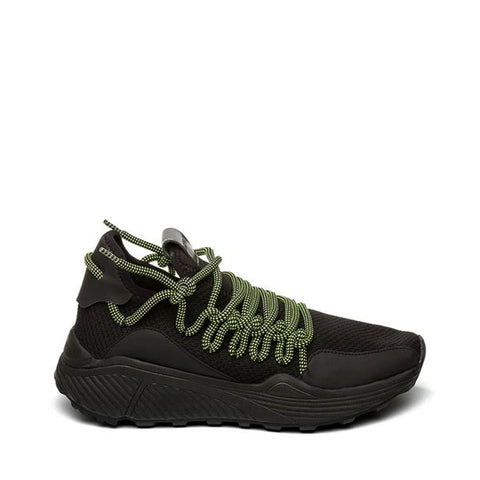 SOLATICE BLACK CHUNKY SNEAKERS