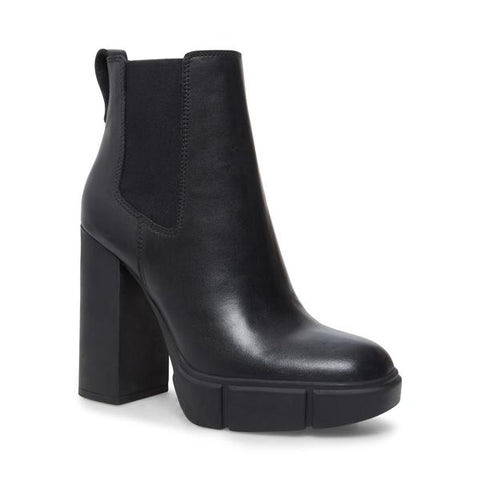 REVISED BLACK LEATHER BOOTIES