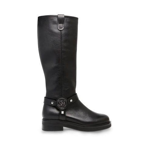 MADMAX BLACK LEATHER BOOTS