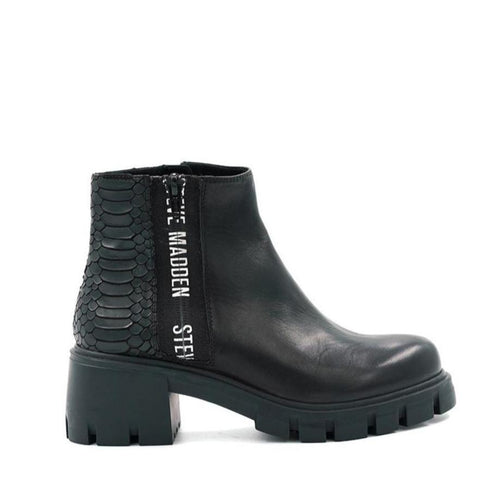 GROSS-S BLACK LEATHER BOOTIES