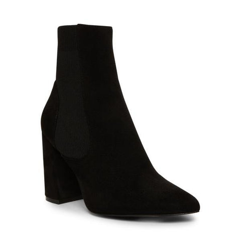 REESA BLACK HEELED BOOTIES