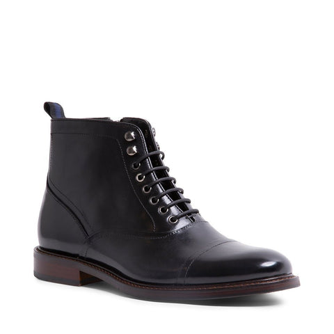 KETONIC BLACK LEATHER BOOTS