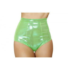 SH3124 Lime Shorts - Roma Costume Shorts - 1