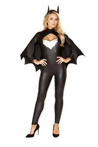 4853 - Roma Costume 3pc Sexy Bat Crusader Batwoman Batman