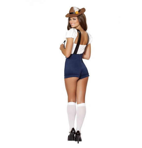 4535 4pc Bodacious Beer Babe Costume - Roma Costume Costumes,2014 Costumes,New Products - 2