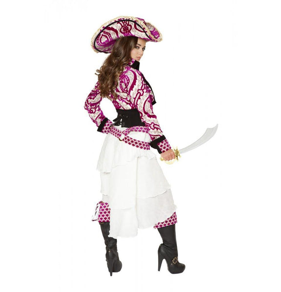 4526 5pc Precious Pirate Costume - Roma Costume Costumes,2014 Costumes,New Products - 3