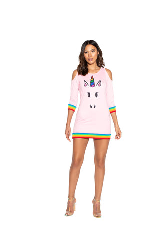 4972 - 1pc Unicorn Lover Dress