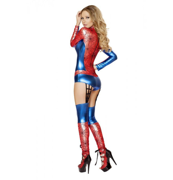 4489 1pc Web Crawler Costume - Roma Costume New Products,Costumes,2014 Costumes - 2