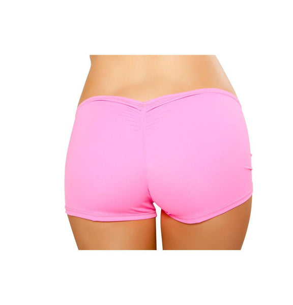 SH223-HP - Full Covered Shorts - Hot Pink - Roma Costume Shorts - 2
