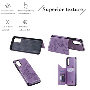 2020  New Luxury Embossing Wallet Cover For SAMSUNG
