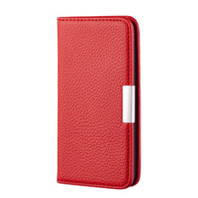 Load image into Gallery viewer, 2020 Latest Lychee Pattern Leather Wallet Phone Case for iPhone