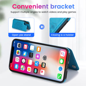 2020 New Style Luxury Wallet Cover For iPhone XS Max