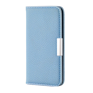 2020 Lychee Pattern Leather Wallet Phone Case for Samsung A21(EU)