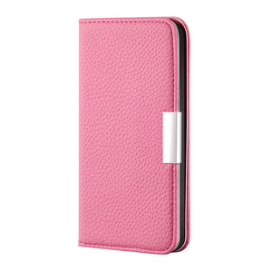 2020 New Lychee Pattern Leather Wallet Phone Case for Samsung