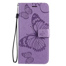 Load image into Gallery viewer, 3D Embossed Butterfly Wallet Phone Case For Samsung S20 Plus