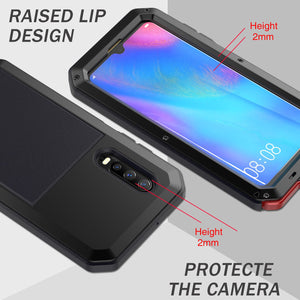 2020 Luxury Doom Armor Waterproof Metal Aluminum Phone Case For Huawei