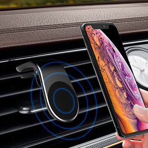 Mini Air Vent Magnetic Car Phone Holder
