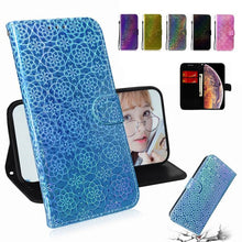 Load image into Gallery viewer, Luxury Shining Sequin Wallet Case For Samsung