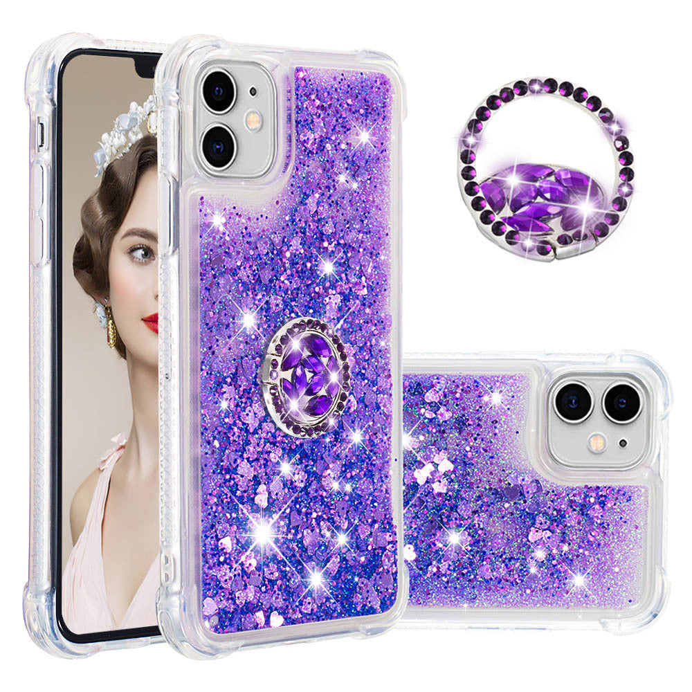 2020 Luxury Glitter Diamond Ring Case for IPHONE
