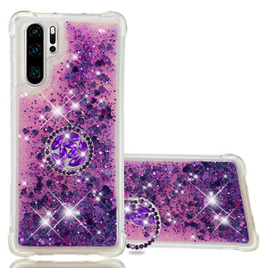 2020 Luxury Glitter Diamond Ring Case for HUAWEI