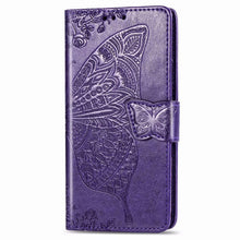 Load image into Gallery viewer, 2020 Luxury Embossed Butterfly Leather Wallet Flip Case For Huawei P30