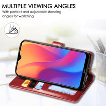 Load image into Gallery viewer, New Luxury Round Buckle Wallet Phone Case For Samsung S10 Plus