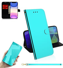 Load image into Gallery viewer, 2021 New Mirror Surface Leather Wallet Case For SAMSUNG Series