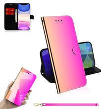 Load image into Gallery viewer, 2020 New Mirror Surface Leather Wallet Case For Samsung S20 Ultra