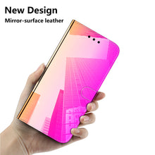 Load image into Gallery viewer, 2020 New Mirror Surface Leather Wallet Case For Samsung Moto G7/G7 Plus