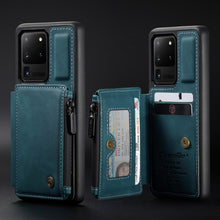 Load image into Gallery viewer, 2021 New Luxury Multifunctional Wallet Phone Case For Samsung S20 Ultra
