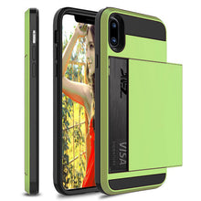 Load image into Gallery viewer, New Slide Card Slot Holder Case For iPhone