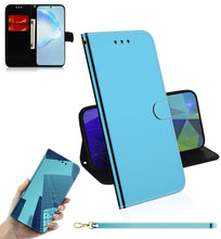 Load image into Gallery viewer, 2020 New Mirror Surface Leather Wallet Case For iPhone