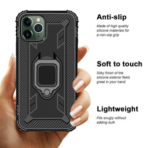 2020 Ultra-thin 4 in 1 Armor Phone Case For iPhone