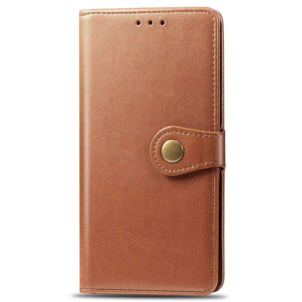 New Luxury Round Buckle Wallet Phone Case For Samsung S10 Plus