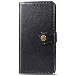 New Luxury Round Buckle Wallet Phone Case For Samsung A11