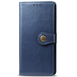 New Luxury Round Buckle Wallet Phone Case For Samsung S20