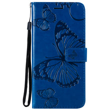 Load image into Gallery viewer, 2021 Upgraded 3D Embossed Butterfly Wallet Phone Case For LG Stylo 6