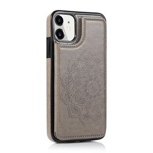 2020 New Style Luxury Wallet Cover For iPhone 11