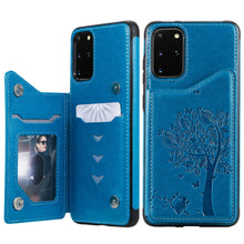 Load image into Gallery viewer, 2020  Luxury 3D Tree Wallet Case For SAMSUNG Note Series