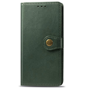 New Luxury Round Buckle Wallet Phone Case For Samsung S20 Ultra
