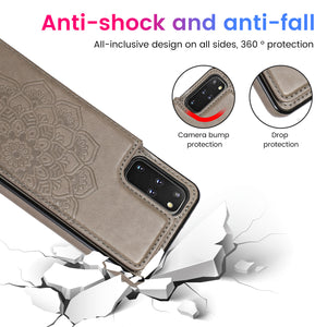 2020 New Style Luxury Wallet Cover For Samsung S20 Plus 5G