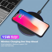 Load image into Gallery viewer, 15W New Fast Phone Wireless Charger