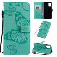 Load image into Gallery viewer, 【Big Sale】2021 Upgraded 3D Embossed Butterfly Wallet Phone Case For Samsung A71