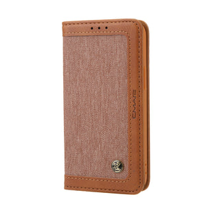 New Contrast Color Wallet Phone Case For iPhone