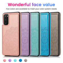 Load image into Gallery viewer, 2020 New Style Luxury Wallet Cover For Samsung S20