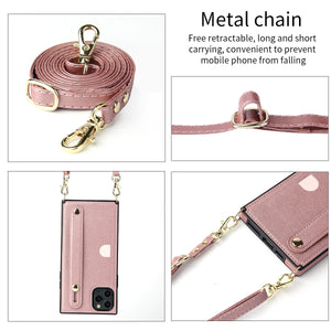 2020 New Luxury Wrist Strap Phone Cover For Samsung