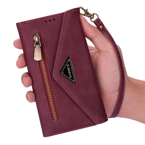 New Crossbody Wallet Leather Phone Case For Samsung S Series